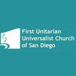 Graphic logo for the First Unitarian Universalist Church of San Diego.