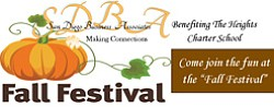 Promotional graphic for the Fall Festival in Alpine on October 19, 2013.