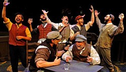 Promotional image of Lamb's Players Theatre's  Fiddler On...