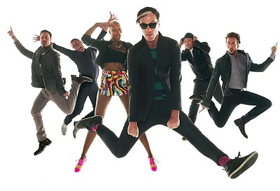 Image of Fitz & The Tantrums, who will be performing at the Del Mar Racetrack on July 26th, 2013. Courtesy of Fitz & The Tantrums.