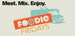 Promotional graphic for Foodie Fridays at La Jolla Playhouse. Courtesy image of La Jolla Playhouse.