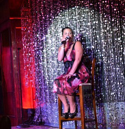 Image of Francesca Amari coming to Martinis Above Fourth on July 18, 2013.