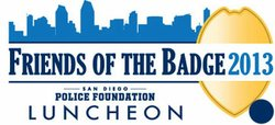 Promotional image for the 2013 Friends of the Badge Luncheon.