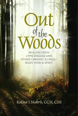 Cover image for Katina Makris's new book, Out of the Woods.