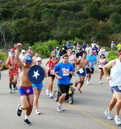 Promotional photo for the 4th of July Scripps Ranch 2 Mile Fun Run. Courtesy of Scripps Ranch Old Pros.