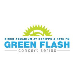 Image of the Green Flash Concert Series Logo. Courtesy of Birch Aquarium at Scripps.