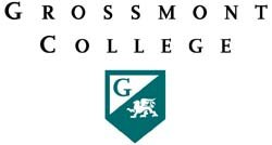Graphic logo for Grossmont College.