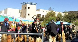Promotional image of the Guelaguetza 2013 Festival at CSUSM. Courtey image of COCIO.
