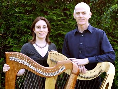 Image of Gráinne Hambly and William Jackson, who will be performing at the Museum of Making Music.