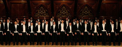 Image of The Harvard Glee Club, who will be performing at...