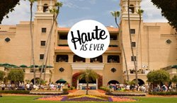 Promotional image for Haute as Ever at the Del Mar Racetrack on August 24, 2013. Courtesy image of Del Mar Racing.