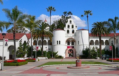 Image of San Diego State University.