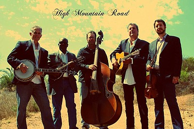 Promotional graphic for High Mountain Road's performance ...