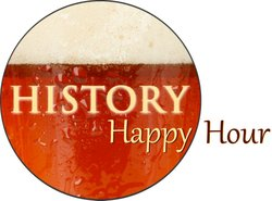 Promotional graphic for History Happy Hour at the San Diego History Center.