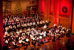 Promotional image of the San Diego Symphony's Holiday Pops. Courtesy image of San Diego Symphony.