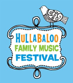 Promotional image of Hullabaloo Family Music Festival on April 13th. Courtesy image of Hullabaloo Family Music Festival.
