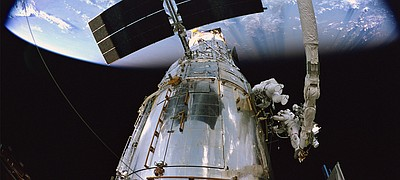 "Image from the IMAX Film, ""Hubble."""
