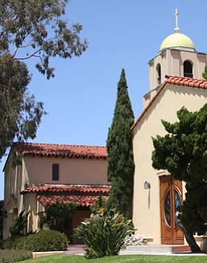 Exterior image of La Jolla Lutheran Church.