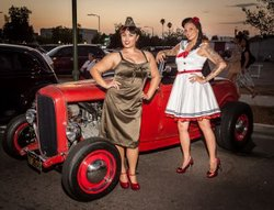 """Photo from a previous """"IMMORTALIZED: Together Forever: Hot Rods, Pinups, and Body Art."""" Courtesy of ArtHatch."""