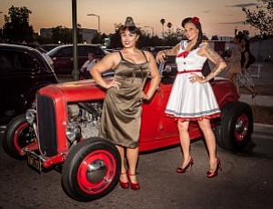 "Photo from a previous ""IMMORTALIZED: Together Forever: Hot Rods, Pinups, and Body Art."" Courtesy of ArtHatch."