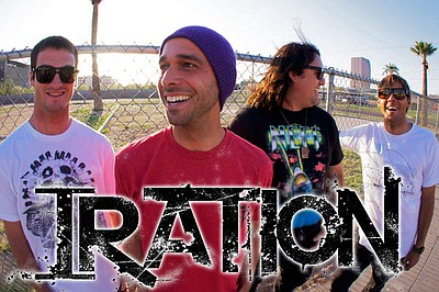 Image of Iration, who will be performing at the Del Mar Racetrack. Courtesy of Iration.