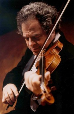 Image of Itzhak Perlman, who will be performing at the Joan and Irwin Jacobs Music Center on January 11th & 12th, 2014.