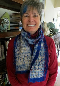 Image of local fiber artist, Jane LaFazio.