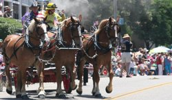 Promotional photo of Julian Fourth of July Parade & Festival.