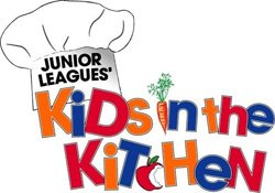 Graphic logo for Kids in the Kitchen.