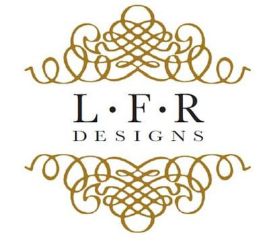 Graphic logo for LFR Designs.