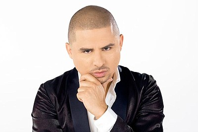 Image of Larry Hernandez, who will be performing at the Del Mar Racetrack on August 4th, 2013.