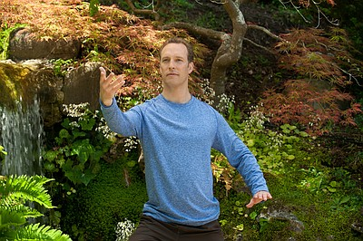 Master Qi Gong instructor Lee Holden. Courtesy of American Public Television