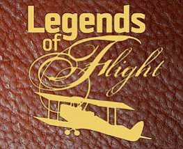 "Promotional graphic for the International Air & Space Hall of Fame Induction Celebration ""Legends of Flight."" Courtesy of the San Diego Air & Space Museum."