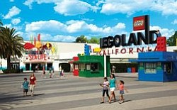 Exterior photo of LEGOLAND California.