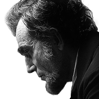 "Promotional graphic for the film, ""Lincoln"""