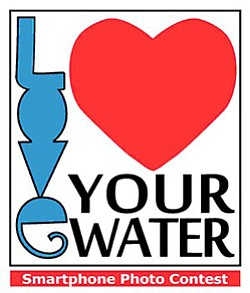 "Promotional graphic for ""Love Your Water"" Campaign, February 14 - March 22, 2013"