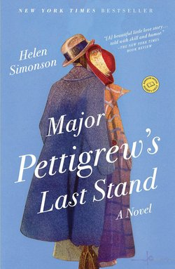 Book cover for the book, Major Pettigrew's Last Stand by Helen Simonson.