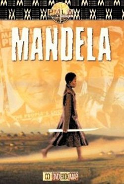 """Promotional movie poster for the film, """"Mandela"""" playing at First Unitarian Universalist Church on June 23rd."""