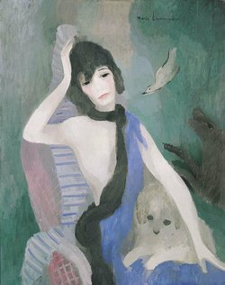 Image of a painting by Marie Laurencin.