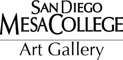 Graphic logo for the Mesa College Art Gallery.
