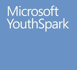 Promotional logo for Microsoft Youth Smart.