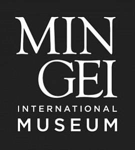 Graphic logo of the Mingei International Museum.