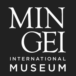 Graphic logo for the Mingei International Museum located in Balboa Park.