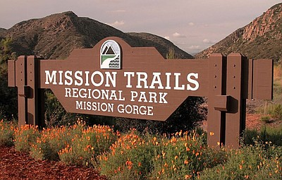 Exterior image of Mission Trails Regional Park.