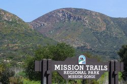 Graphic of Mission trails Regional Park.