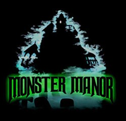 Promotional graphic for Monster Manor.