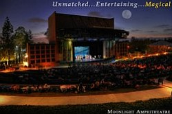 Exterior image of the Moonlight Amphitheater.