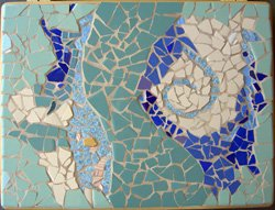 Promotional image of Mosaic- Glass On Glass Two-Part Workshop at Bravo School of Art.