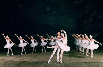 Promotional graphic for the Moscow Festival Ballet: Swan ...