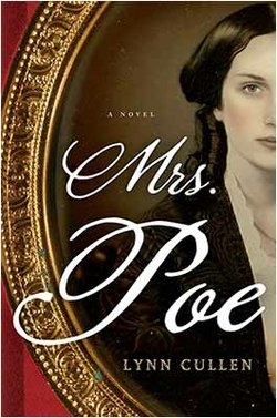 Cover image for the book, Mrs. Poe by Lynn Cullen.